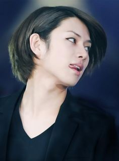 Super Junior Heechul~~~  Oh yeah....he kinda has an oral fixation too.....