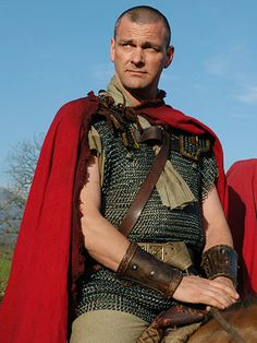 Ray Stevenson as Titus Pullo from Rome - would also be a good Egar Dragonbane, Majak mercenary from The Steel Remains. #TheSteelRemainsBookcasting