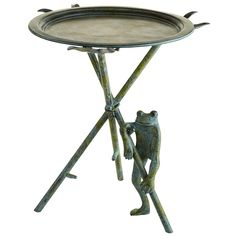 Frog Accent Table ~ great garden table