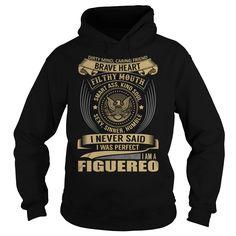 [Love Tshirt name list] FIGUEREO Last Name Surname T-Shirt Discount 20% Hoodies, Funny Tee Shirts