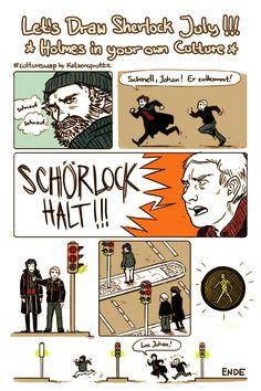 Sherlock in Germany!