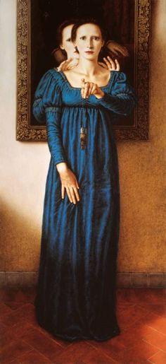 Dino Valls. Wow, what a disturbing painting! Amazing work!