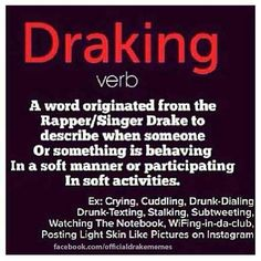 Meaning of draking