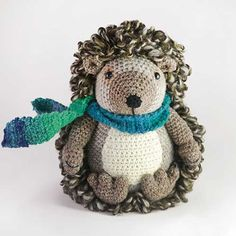 Buy Hedley the hedgehog amigurumi pattern - AmigurumiPatterns.net