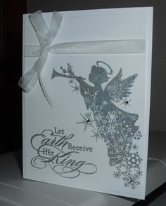 Sparkly Angel by Amisjag - Cards and Paper Crafts at Splitcoaststampers
