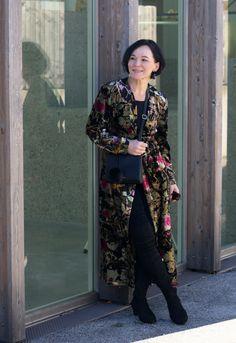 Zara Kimono Partylook LadyofStyle