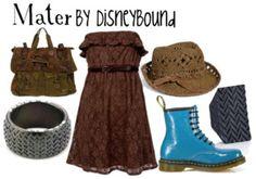 Mater by Disneybound