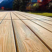 Terrassendielen: Moderner Holzschutz
