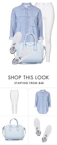 """Light"" by monmondefou ❤ liked on Polyvore featuring Topshop, Givenchy and adidas Originals"