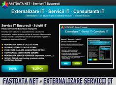 EXTERNALIZARE SERVICII IT    Va punem la dispozitie o gama variata de servicii IT si personal calificat. Incercam sa acoperim toate serviciile IT de care aveti nevoie pentru a va oferi un serviciu IT integrat.