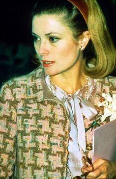 HSH Princess Grace of Monaco wearing Chanel