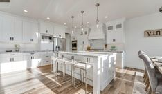 Salt Lake Parade of Homes cabniets and floors Modern Prairie Home, Kitchen Hardware, Parade Of Homes, Live For Yourself, New Kitchen, House Design, Flooring, Bliss, Studios