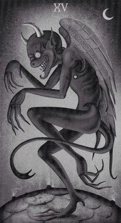 Tarot Card XV - The Devil.