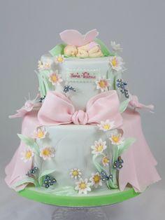 Hochzeit und so … – torteundmehr.at Peach Baby Shower, Baby Shower Favors Girl, Baby Shower Cakes, Peach Cake, Little Cakes, No Bake Cake, Princess Peach, Frosting, Little Girls