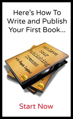 How to write and publish your first book...