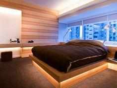 moderne schlafzimmer einrichtung und lichtgestaltung mit ... - Moderne Mobel Schlafzimmer