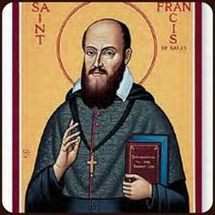 Monastery Icons carefully creates saint icons, such as this St Francis de Sales Icon, in a number of different sizes.