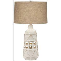 Pacific Coast Lighting Tribal Geo Ceramic Lamp - 87-8450-06