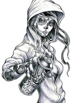 Awsome drawing. Love to add it to my collection of tattoos.