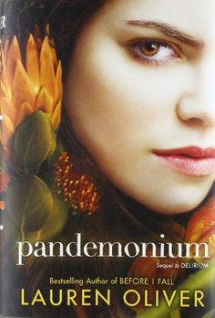 Pandemonium (Delirium) by Lauren Oliver a fantastic book.  The 2nd in her delirium series.
