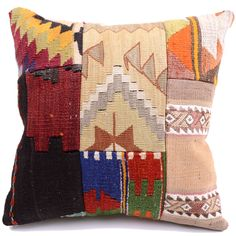Kilim Pillow Cover 4424 - Weaved Arts