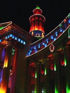 Christmas in Denver, Colorado