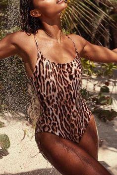 1797238b880 Formentera One Piece Swimsuit. Animal Print ...