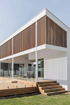 Orton Haus — the palm co. Facade Design, Exterior Design, House Design, Future House, My House, Town House, Timber Screens, Exterior Cladding, Facade Architecture