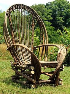 Willow Furniture #1 Fan Back Chair by Justin Roberts