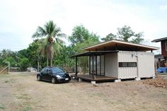 Shipping Container Homes: BlueBrown Container Home Thailand