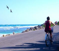 Riding bike is the ideal way to get around in Tulum