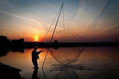 Fishing Fishing, Celestial, Sunset, Photography, Outdoor, Outdoors, Photograph, Fotografie, Photoshoot
