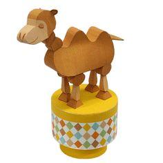 Push toy : Camel - Toys - Paper CraftCanon CREATIVE PARK