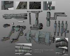 USN ship internal details by ~strangelet on deviantART
