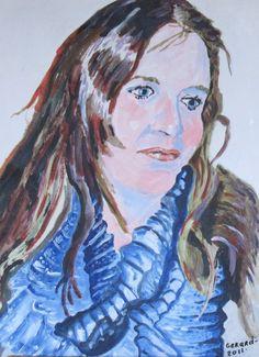Kunstenaar Gerard Janssen.