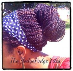Hair Time Out: Crochet Braids (with Pre-twisted Hair) - VeePeeJay