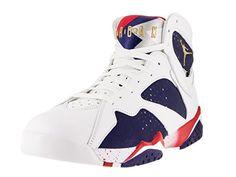 Nike Jordan Mens Air Jordan 7 Retro Basketball Shoe >>> Want additional info? Click on the image. Amazon Affiliate Program's Ads.
