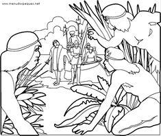 Colorear Día de la Hispanidad 04