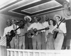 Mid 1950s, Texas– A young Willie Nelson is second from the left. — Image by © Michael Ochs Archives/Corbis