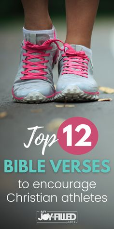 If you're an athlete and need some Godly encouragement, turn to these top Bible verses that are sure to lift you up and remind you of God's promises for you. The printable scripture cards are nice for tucking in your pocket or gym bag.