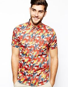 Parrot shirt by ted baker