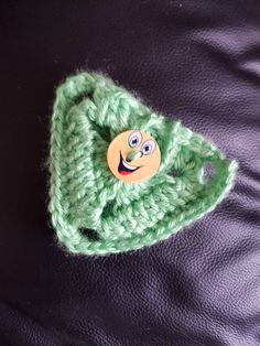 Fidget Spinner Case Hand Made Crochet Fidget spinner Holder Smiley Face Emoji Button Green Case by CraftychloeBoutique on Etsy https://www.etsy.com/uk/listing/531188914/fidget-spinner-case-hand-made-crochet