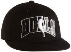 NBA Chicago Bulls Flat Brim Flex Hat - Tx88Z adidas. $25.47