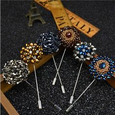 New 2016  Lapel Flower Handmade Boutonniere Brooch Pin Men's Accessories Suits   Jewelry & Watches, Fashion Jewelry, Pins & Brooches   eBay!