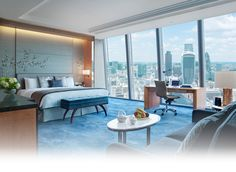 Love iconic landmarks? Our Premier City View Room offers luxurious accommodation with contemporary furnishings and unparalleled northerly views of some of London's most iconic landmarks.