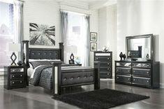 Ashley Furniture Bedroom Sets King Dresser Mirror Signature Design Black Master
