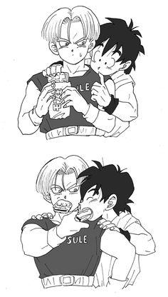 Manga Anime, Anime Art, Otaku Anime, Goten E Trunks, Dbz Drawings, 17 Kpop, Naruto Shippuden Anime, Adventure Time Anime, Dragon Ball Gt