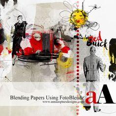 Blending Papers Using FotoBlendz