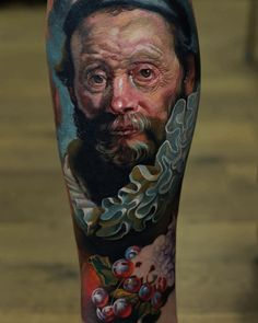 L.O.V.E.machine @l_o_v_e_machine  Kwadron @kwadron  Inkmachines @inkmachines_christian  #devilwithmyname #sivak #sivaktattoo #sivakdenis  #kwadron #inkmachines #lovemachine #l_o_v_e_machine #911 #rembrandt #oilpainting #classicart by sivak_