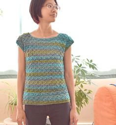 Water's Edge crocheted top - free pattern